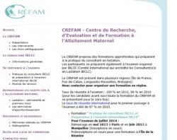site du CREFAM