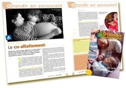 Le co-allaitement - Grandir Autrement n°5