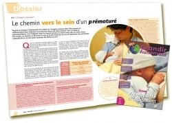 Dossier Prématurité et allaitement : Le chemin vers le sein pour un prématuré - Martine Vergnol - Grandir Autrement n°4