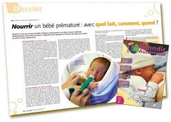 Dossier Prématurité et allaitement : Comment nourrir un prématuré - Martine Vergnol - Grandir Autrement n°4