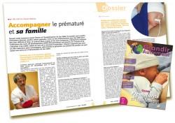 Dossier Prématurité et allaitement : Accompagner le prématuré et sa famille - Martine Vergnol - Grandir Autrement n°4